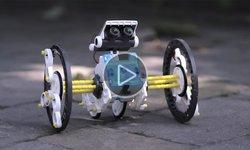 Видеообзор робота 14 в 1 на солнечных батареях CIC