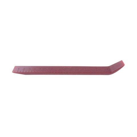 Інструмент для знімання обшивки з вигнутою лопаткою та шкалою поліуретан, 200×23 мм