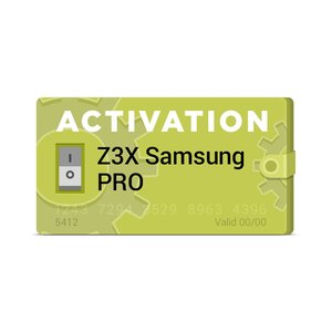 Z3X Upgrade to Samsung Pro Activation (sams_upd)