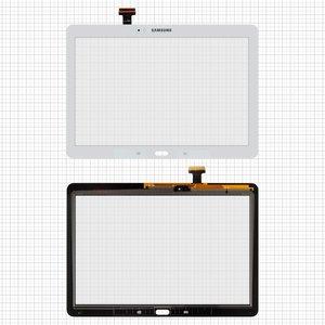 Cristal táctil para tablet PC Samsung P600 Galaxy Note 10.1, P601 Galaxy Note 10.1, P605, blanco