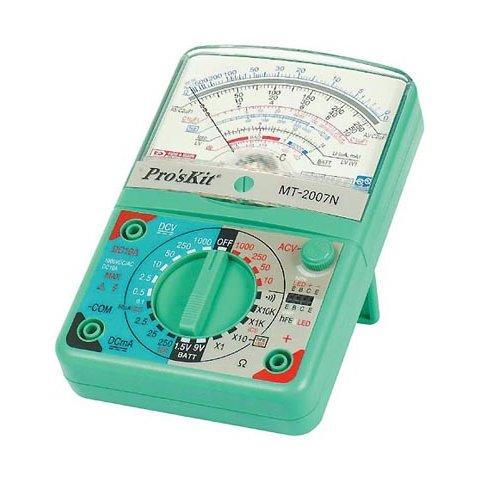 Aналоговий мультиметр Pro'sKit MT 2007N