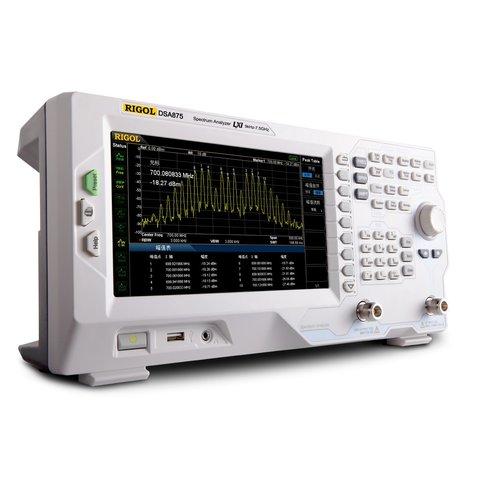 Аналізатор спектру RIGOL DSA875 TG