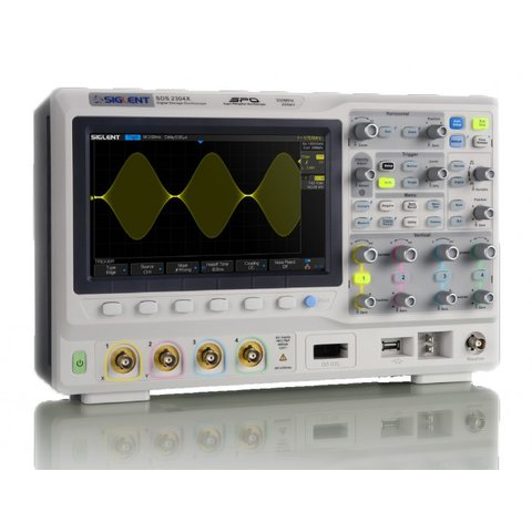 Фосфорний цифровий осцилограф SIGLENT SDS2204X