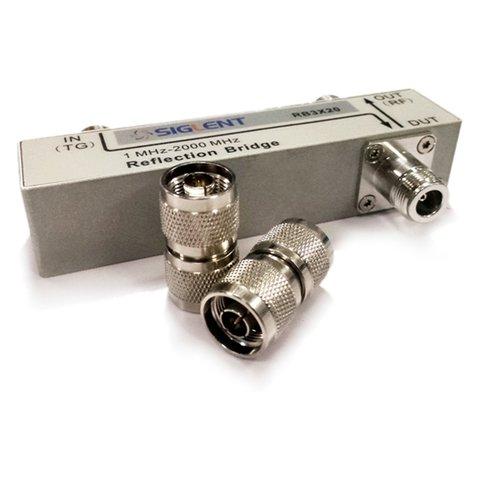 Міст для вимірювання КСХН SIGLENT RBSSA3X25 + ПЗ SIGLENT Refl SSA3000X
