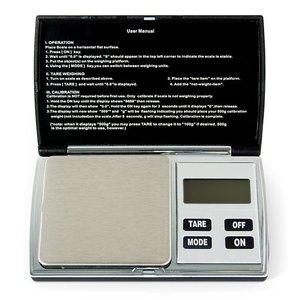 Balanza digital de bolsillo Hanke YF-W5 (300g/0.01g)